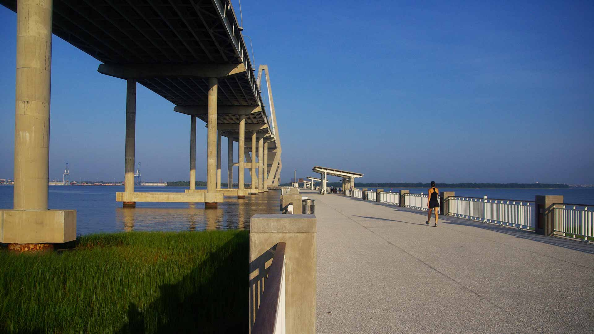 Mount Pleasant's waterfront pier as photographed by The Digitel